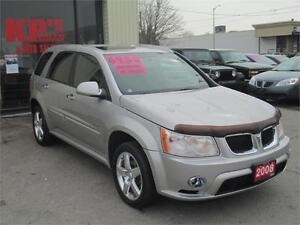 ! 2008 PONTIAC TORRENT ! RARE GXP ! FULLY LOADED ! SUNROOF !
