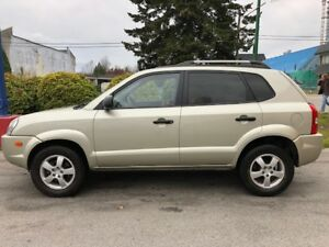 2006 Hyundai Tucson FWD Automatic with winter tires