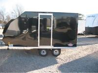 2016 Ameralite Hybrid Tandem Axle 2 Place Snowmobile Trailer