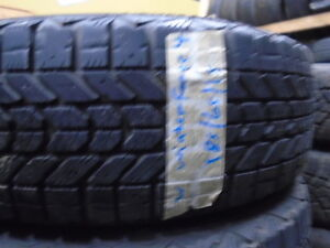 FOUR USED WINTER 185-65-15 { WINTER FORCE } R,H AUTO Kitchener / Waterloo Kitchener Area image 1