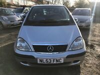 2004 Mercedes A Class 1.4 A140 Classic, MANUAL, IN EXCELLENT CONDITION, LOW INSURANCE GROUP