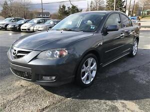2009 Mazda Mazda3 GT AMAZING CAR, SUPER CLEAN, LEATHER LOADED