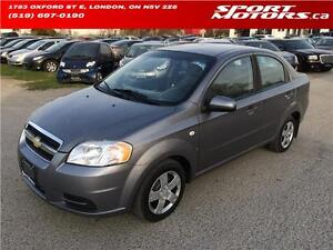 2008 Chevrolet Aveo LS! BRAND NEW BRAKES & BATTERY! A/C! Auto