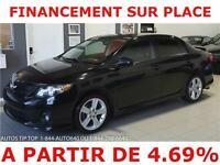 2011 TOYOTA COROLLA XRS***CUIR-TOIT-MAGS-AILERONS-AUTO-AIR***
