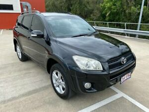 2011 Toyota RAV4 ACA38R Cruiser (2WD) Black 4 Speed Automatic Wagon Morayfield Caboolture Area Preview