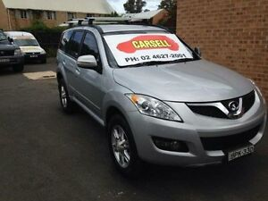 2013 Great Wall X200 CC6461KY MY11 (4x4) Silver 6 Speed Manual Wagon Campbelltown Campbelltown Area Preview