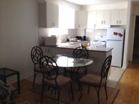 Bel apt meublé, tout inclus-Nice furnished apt all included CDN