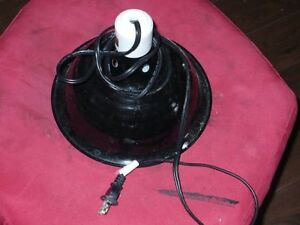 Large domed heat lamp for sale.