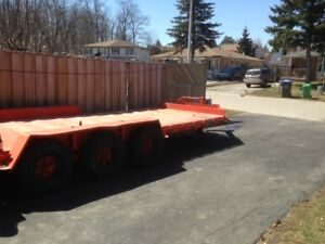 OVERSIZED EQUIPMENT TRAILER FOR SALE