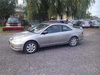 "2003 Honda Civic ""LXG""-1 OWNER-ONLY 56,000 KM-RARE!!"