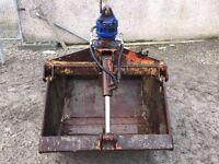 Clamshell Grab c/w Kinshofer Rotator - Fit Hiab/Digger and Similar