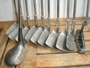 club de golf s rie browning 9 clubs bois putter ebay. Black Bedroom Furniture Sets. Home Design Ideas