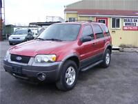2006 Ford Escape XLT, Leather Interior, Sunroof, Loaded. Hamilton Ontario Preview