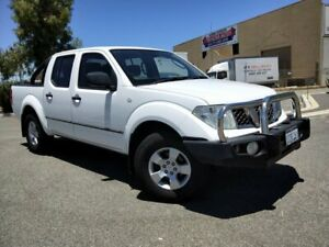 2012 Nissan Navara D40 MY11 RX (4x4) White 5 Speed Automatic Dual Cab Pick-up Malaga Swan Area Preview