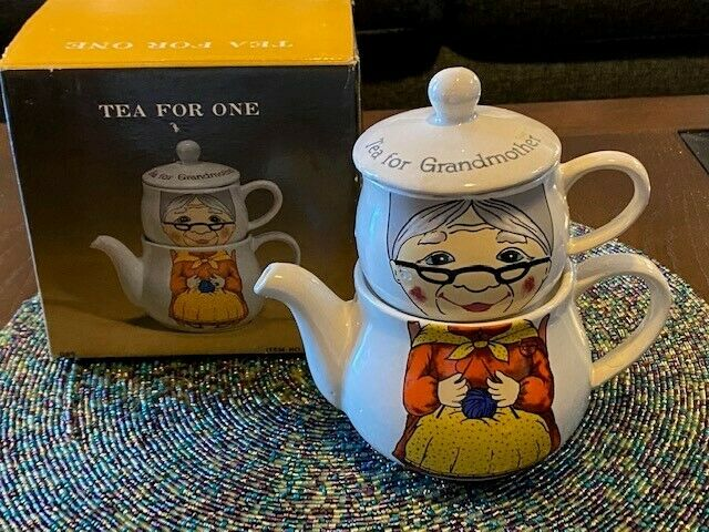 Tea for One Grandmother Used Good Condition
