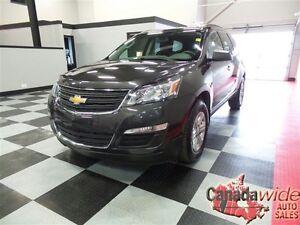 2016 Chevrolet Traverse LS,AWD,8 PASSENGER, EASY FINANCE WE APPR
