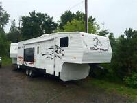 **TOY HAULER**2008 Cherokee Wolf Pack 295WP|1/2 Ton Towable
