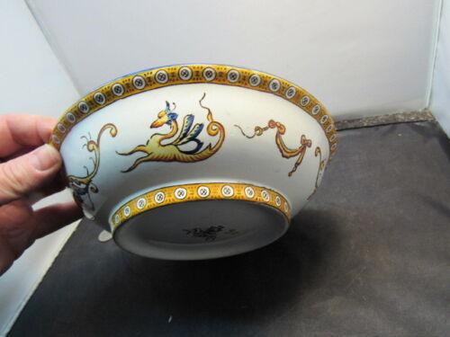 Antique French  bowl Antique French Gien Porcelain Ceramic bowl