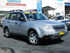 2010 Subaru Forester MY10 X Silver 4 Speed Auto Elec Sportshift Wagon Tuggerah Wyong Area Preview