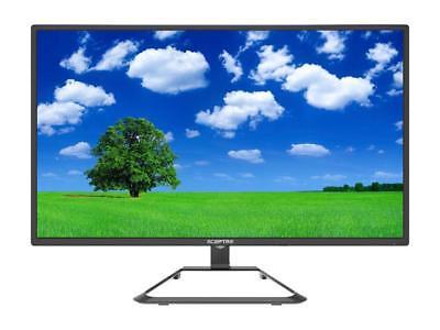 """SCEPTRE U275W-4000R 27"""" 4K UHD IPS Monitor HDMI 1.4 & 2.0 Displayport Speakers"""