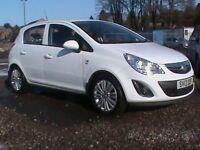 VAUXHALL CORSA 1.3 CDTI DIESEL ENERGY A/C WHITE,£30 RD TAX,CLICK ON VIDEO LINK TO SEE CAR IN FULL