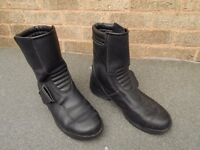Ladies/ Small Mans Hein Gerche Motor cycle boots Size 40 (6)