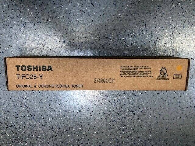 Toshiba T-FC25-Y Yellow Toner Cartridge Genuine NEW - $69.99