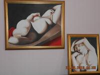 Peinture à l'huile de L'empika 2 - prix d'ensembles pour les 2