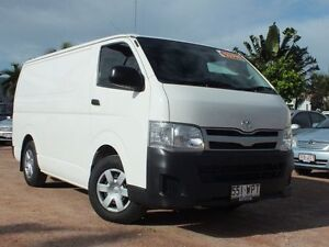 2011 Toyota Hiace TRH201R MY11 LWB White 5 Speed Manual Van Rosslea Townsville City Preview