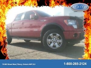 2012 Ford F-150 FX4, One Owner, Eco Boost, Gas and Go!!!