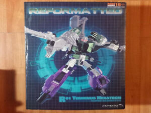 TRANSFORMERS 3RD PARTY MASTERMIND CREATIONS TERMHEXATRON SIXSHOT
