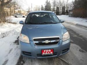 2008 Chevrolet Aveo LS 4cyl. Auto  only 110 kms $2995 WOW