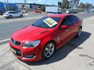 2016 Holden Commodore VF II MY16 SS Red 6 Speed Sports Automatic Sedan Fyshwick South Canberra Preview