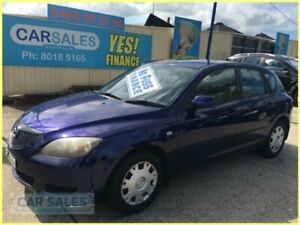 2004 Mazda 3 BK Neo Blue 4 Speed Auto Activematic Hatchback Kogarah Rockdale Area Preview