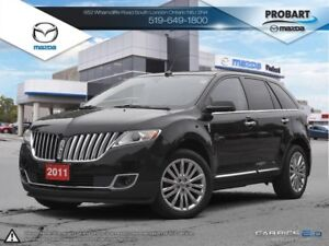 2011 Lincoln MKX | Leather | Moonroof | Heated Seats | AWD