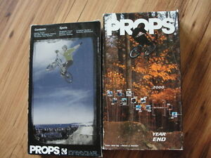 vhs movies  these are about BMX stunts Peterborough Peterborough Area image 1
