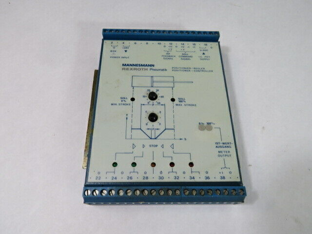 Rexroth 5460190000 Pneumatic Linear Positioner Controller  USED