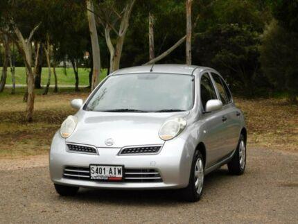 2010 Nissan Micra K12 Silver 4 Speed Automatic Hatchback Murray Bridge Murray Bridge Area Preview