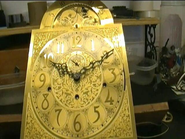 Clock Repair DVD Video - Grandfather Clock with Hermle 1161-853 Movement Repair