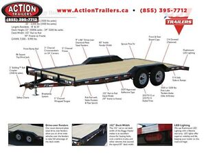 PJ BUGGY HAULER - 5 TON 7 X 20' BED -YOUR LOWEST CANADIAN PRICE