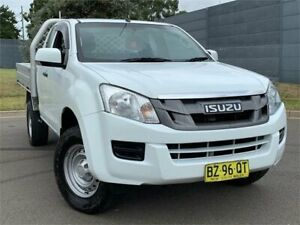 2015 Isuzu D-MAX MY15 SX Space Cab Alpine White 5 Speed Manual Cab Chassis Blacktown Blacktown Area Preview