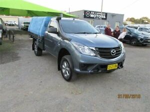 2015 Mazda BT-50 MY16 XT (4x4) Blue 6 Speed Automatic Cab Chassis Heatherbrae Port Stephens Area Preview