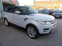 LAND ROVER RANGE ROVER SPORT 3.0 SDV6 HSE 5d AUTO 288 BHP 7 SEATER - LOADS OF E (white) 2015