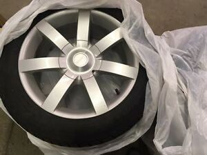 "18"" Winter Tires on Cadilllac Rims"