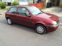 FORD FIESTA 1.3 LX ZETEC,MOT SEPT,ONLY 65K,FULL SERVICE HISTORY,AIR-CON,POWER STEERING.