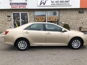 2012 Toyota Camry LE special price $11999