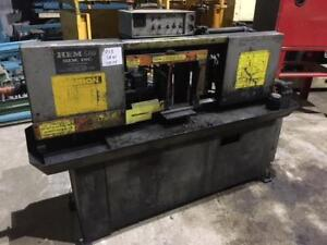 (USED) AUTOMATIC BAND SAW / METAL / HEM SAW 10 x 10""