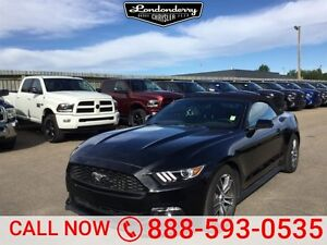 2015 Ford Mustang PREMIUM CONVERTIBLE Navigation (GPS),  Leather
