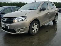Dacia Sandero - Cat D damage repaired