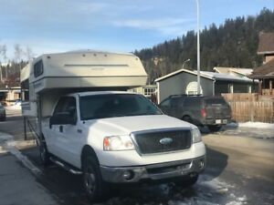 Ford F150 4x4 With Camper And Topper